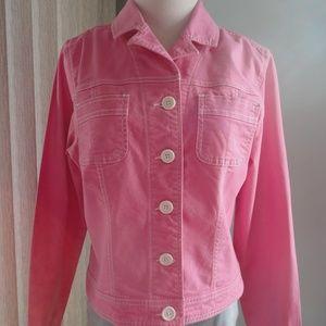 JEAN JACKET Hot Pink - SO Brand - Juniors XL